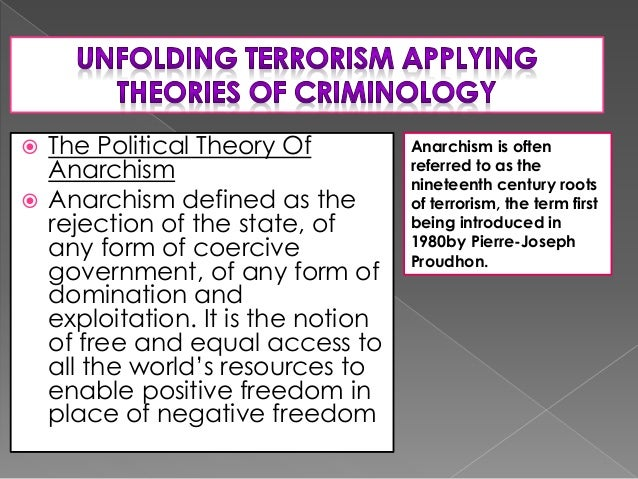 theories of motivation for terrorism Theories and hypotheses on the causes of terrorism  political motivations of  terrorists, and to relate them to particular ideologies and beliefs.