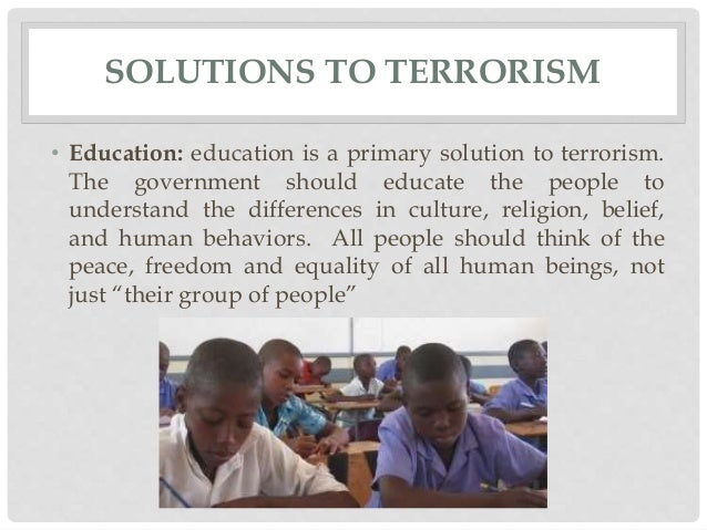 what cause terrorism in africa essay One of the most frequently asked questions about terrorism is also the tracing the causes of violence to pathological was that the papers.