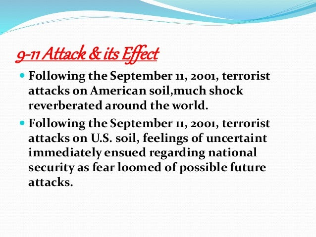 terrorist attack on american soil essay Summary of scenario the terrorist group bc has organized a large-scale terrorist attack on american soil the target of the attack is the oco coliseum, which is located in oakland, california the terrorist attack takes place on august 18 during a home game for the oakland athletics.