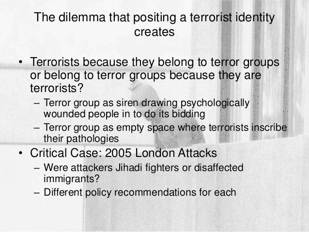 what motivates terrorists how do Terrorists are people who are devastated in their own life and have a grudge against the country the leaders of these people mainly choose people who can do anything to destroy this world.