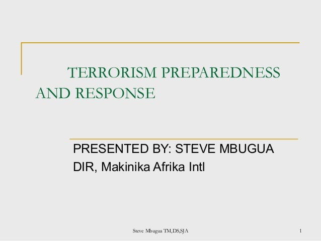 Terrorism slides trial 1
