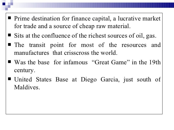 Central Asia S Most Lucrative Natural Resource Is
