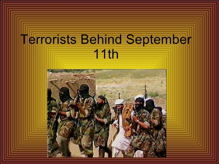 Terrorists Behind September 11th