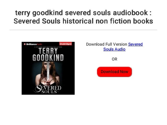 terry goodkind severed souls pdf free download