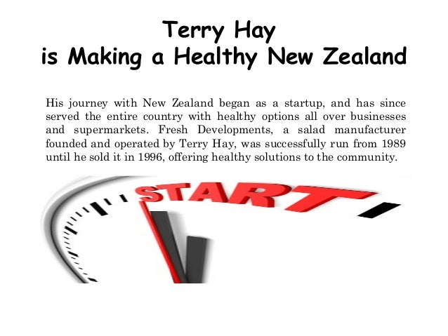 Terry Hay is Making a Healthy New Zealand His journey with New Zealand began as a startup, and has since served the entire...