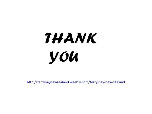 THANK YOU http://terryhaynewzealand.weebly.com/terry-hay-new-zealand