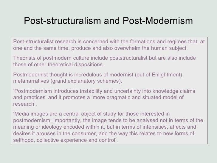 Postmodernism essay sociology