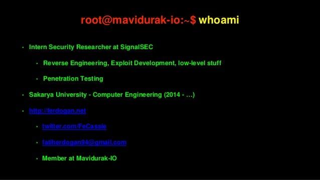 Tersine Mühendislik 101 Slide 2