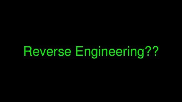 Tersine Mühendislik 101 Slide 3
