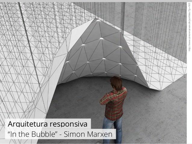"""http://www.simonmarxen.dk/portfolio/?p=165  Arquitetura responsiva  """"In the Bubble"""" - Simon Marxen"""