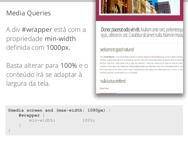 Breakpoints  @media screen and (max-width: 960px) {  #logo {  float: none;  margin: 0 auto;  text-align: center;  width: 1...