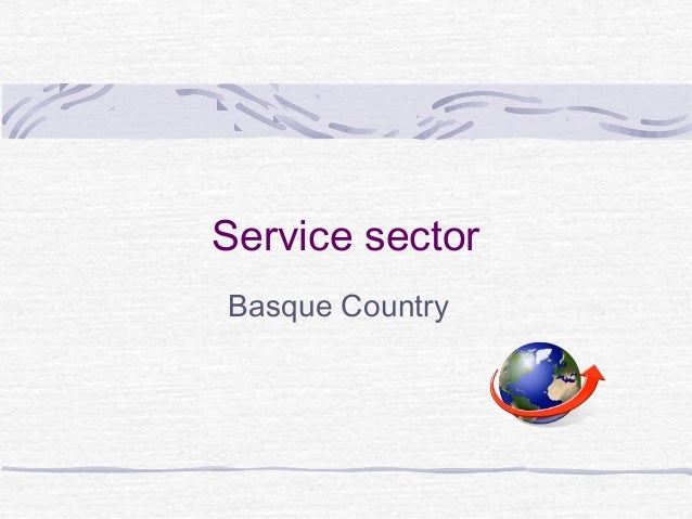Service sectorBasque Country