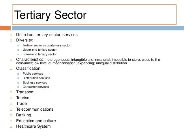the tertiary sector. services: transport, Human Body