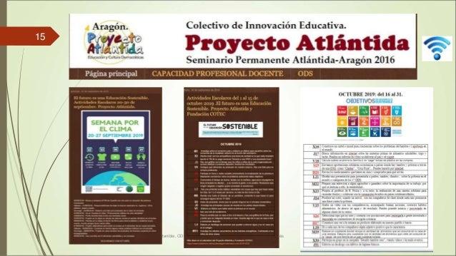 Educación para el desarrollo sostenible. ODS y Agenda 2030. Proyecto Atlántida. Alfonso Cortés 15