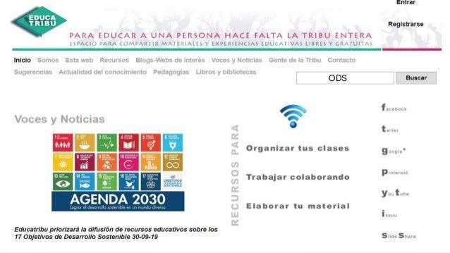 Educación para el desarrollo sostenible. ODS y Agenda 2030. Proyecto Atlántida. Alfonso Cortés 16 ODS