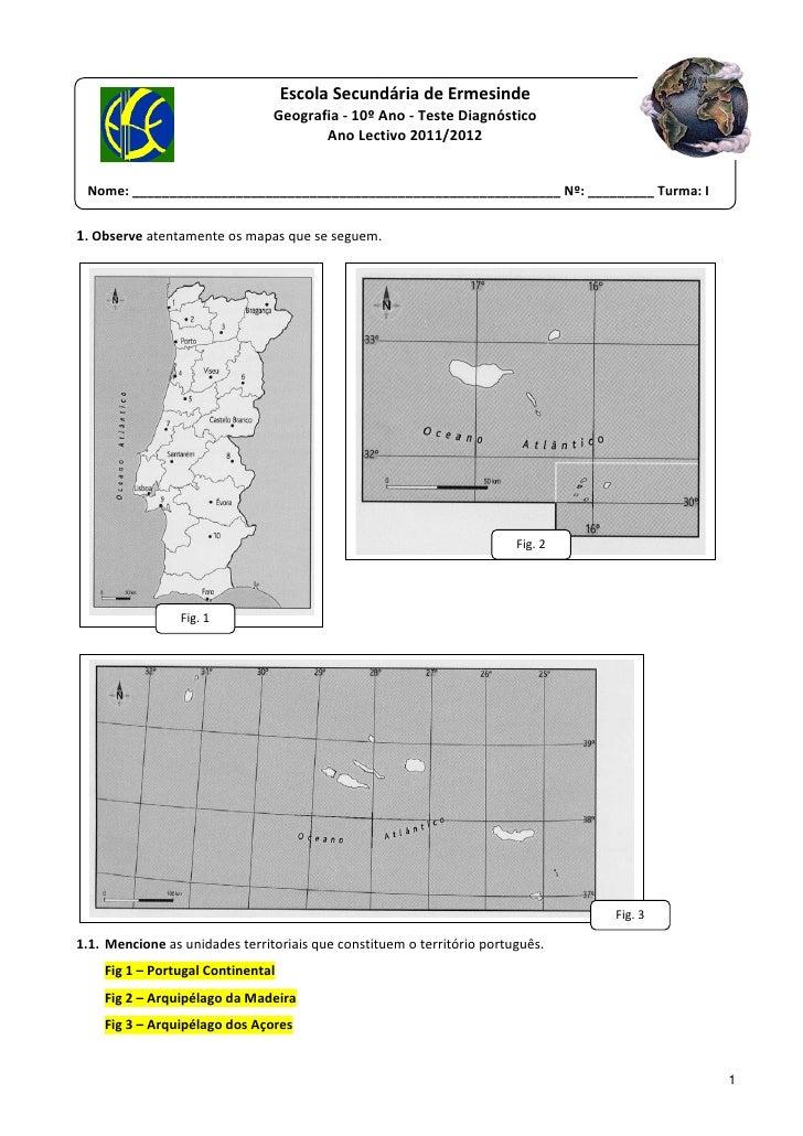 EscolaSecundáriadeErmesinde                                  Geografia‐10ºAno...