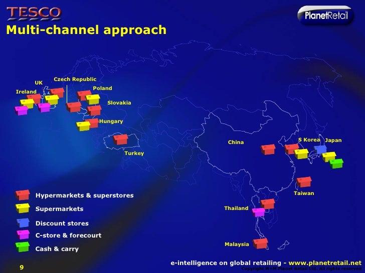 tesco multi channel strategy