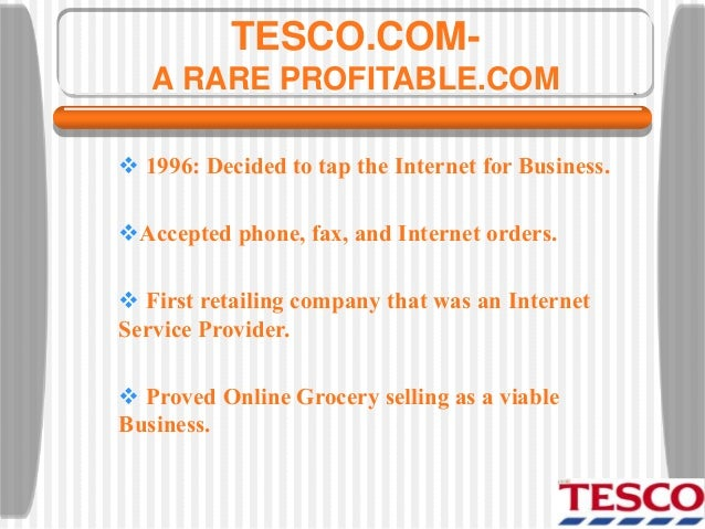 introduction to business tesco Free research that covers introduction to the problem operations management plays a key role in achieving the main performance objectives of tesco whether the.