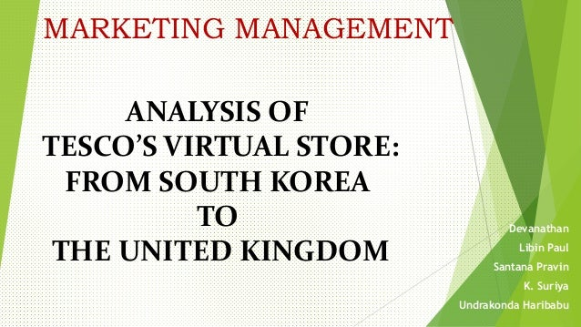 marketing analysis of tesco Tesco by gediminas sumyla  we use your linkedin profile and activity data to personalize ads and to show you more relevant ads.