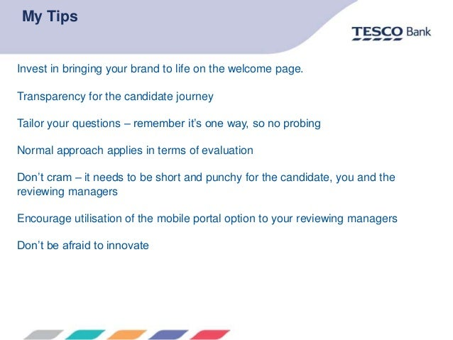 Tesco Bank Insurance Portal