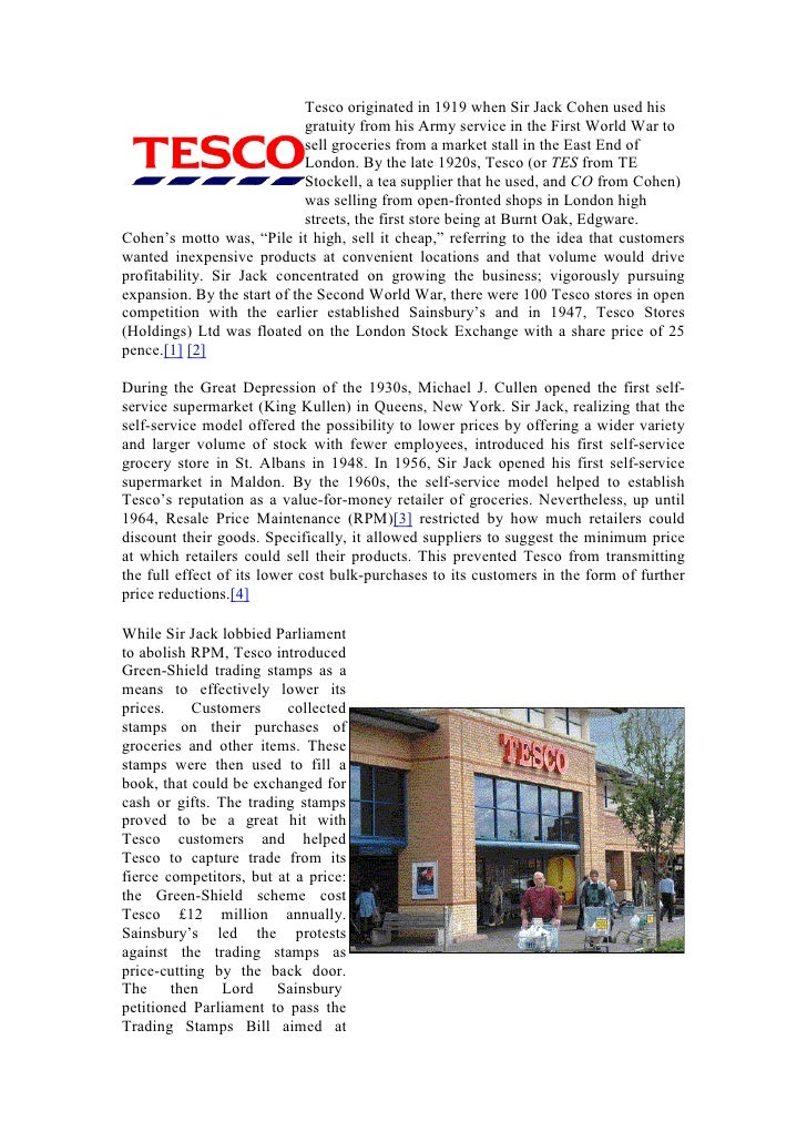 """inside tesco every little helps """"every little helps"""" what would a tesco university look like gradcore team, created 27/11/2012 12:01 recent debates about the he sector's reaction to the."""