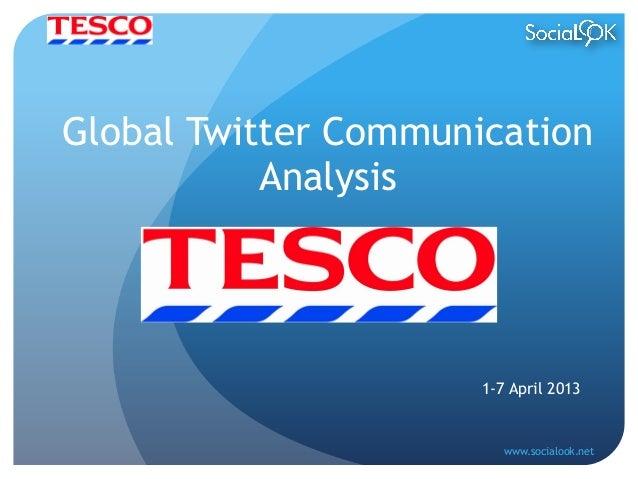 tesco communication