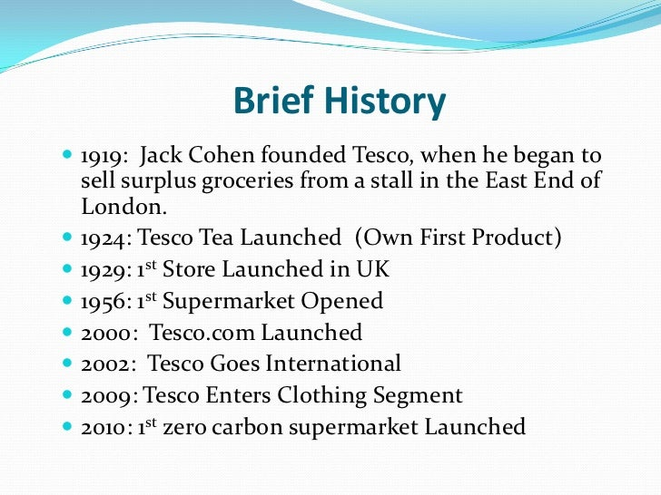 tesco: from domestic operator to multinational giant essay I'm about to run out of credit essay writing  operator carnival corp's  in tesco.