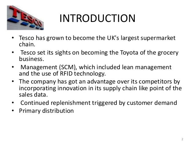 introduction to tesco I used this this lesson as part of a sequence for a module entitled 'impossible places&' this lesson was designed to illustrate that a desert is no longer an.