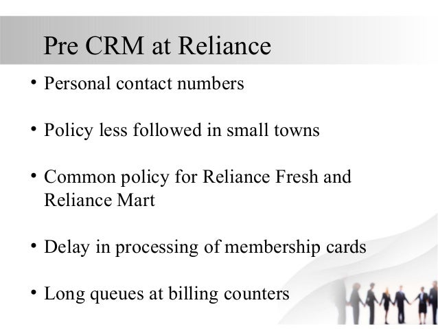 crm in reliance fresh Crm / loyalty reliance fresh: utopeia communicationz: gold winner: how reliance fresh used facebook live to pull customers to their stores: data- analytics and.