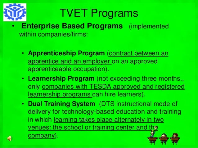 tesda and the development of the The technical education and skills development authority (tesda) of the philippines is one of the agencies that offer short and free vocatio.