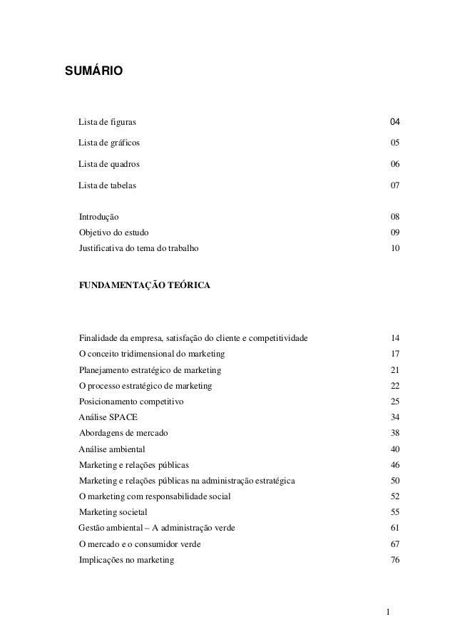 1 SUMÁRIO Introdução 08 Objetivo do estudo 09 Justificativa do tema do trabalho 10 FUNDAMENTAÇÃO TEÓRICA Finalidade da emp...