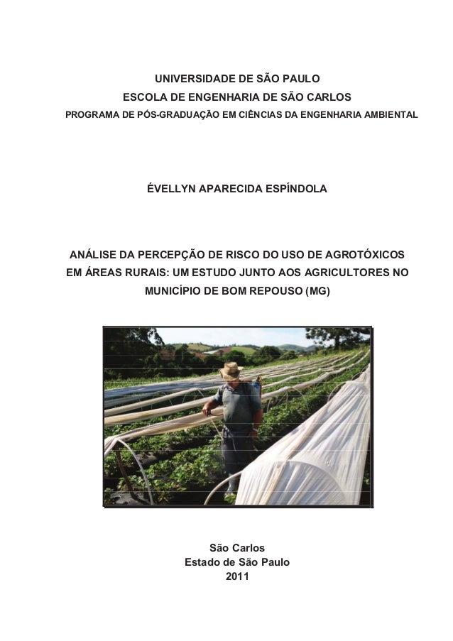 UNIVERSIDADE DE SÃO PAULOESCOLA DE ENGENHARIA DE SÃO CARLOSPROGRAMA DE PÓS-GRADUAÇÃO EM CIÊNCIAS DA ENGENHARIA AMBIENTALÉV...