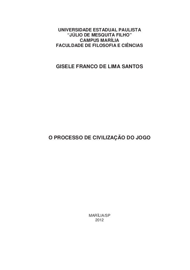"""UNIVERSIDADE ESTADUAL PAULISTA      """"JÚLIO DE MESQUITA FILHO""""           CAMPUS MARÍLIA  FACULDADE DE FILOSOFIA E CIÊNCIAS ..."""