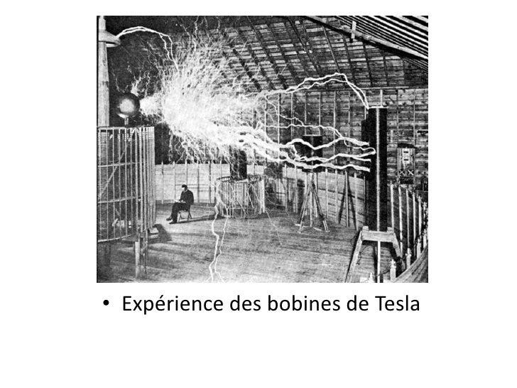 Expérience des bobines de Tesla<br />