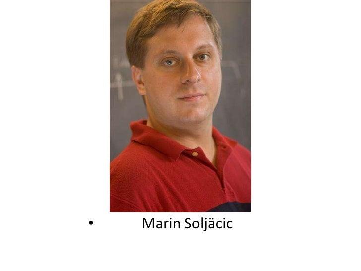 Marin Soljäcic<br />