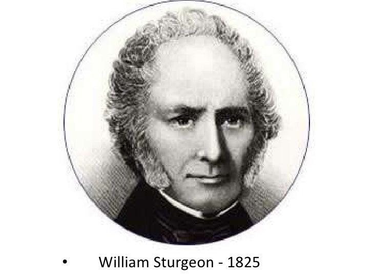 William Sturgeon - 1825<br />