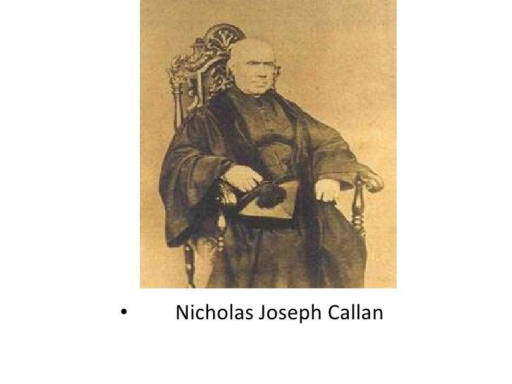 Nicholas Joseph Callan<br />
