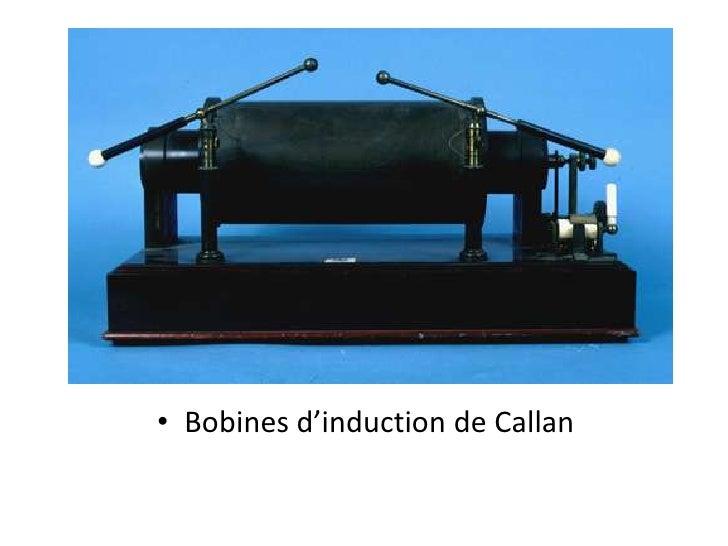 Bobines d'induction de Callan<br />