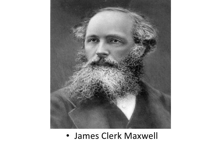James Clerk Maxwell<br />