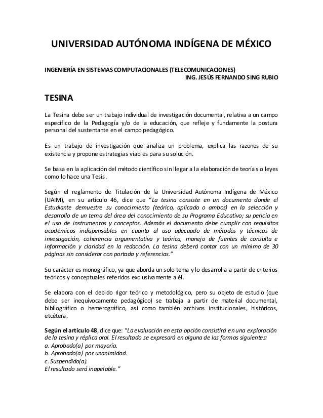 UNIVERSIDAD AUTÓNOMA INDÍGENA DE MÉXICO INGENIERÍA EN SISTEMAS COMPUTACIONALES (TELECOMUNICACIONES) ING. JESÚS FERNANDO SI...