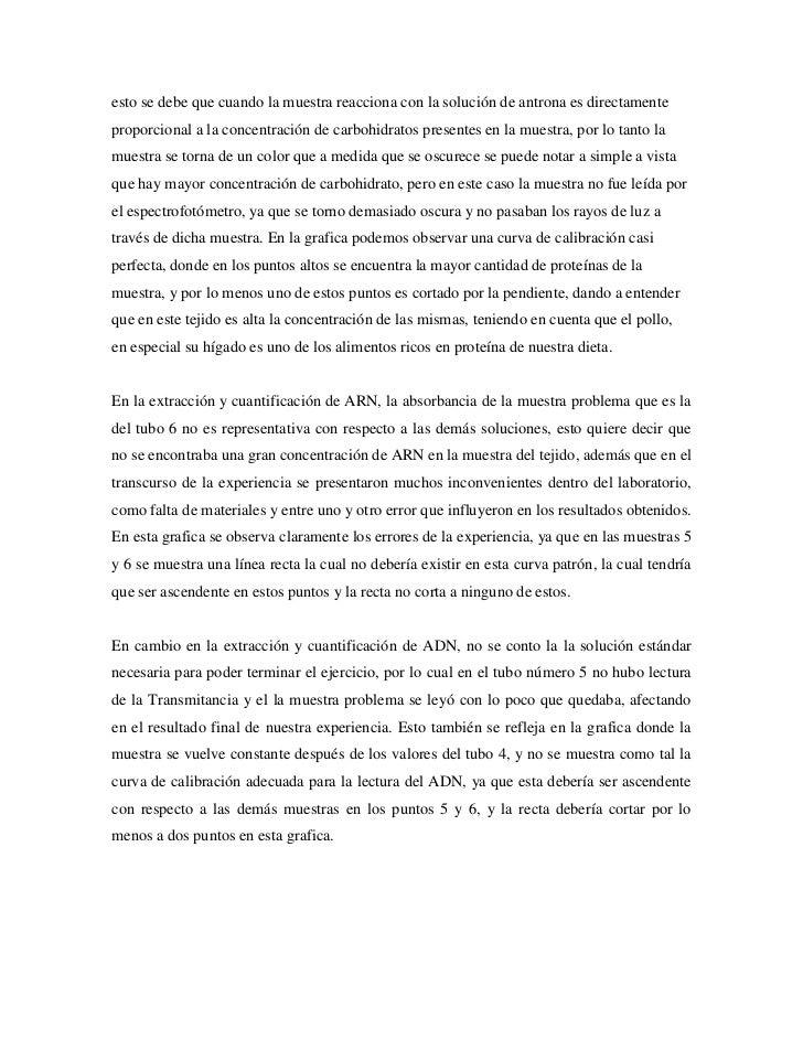 Analisis Bioquimico de Tejido de Higado de Pollo