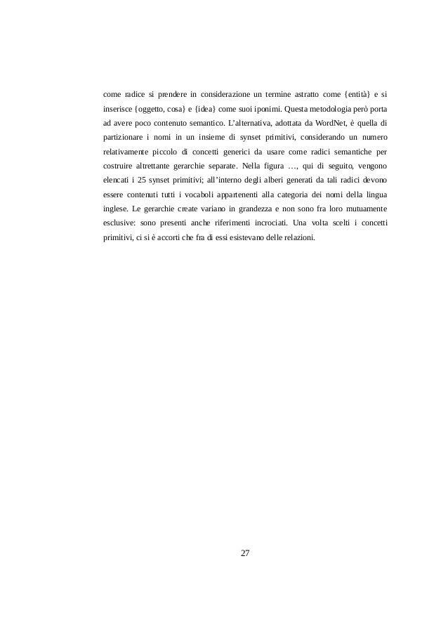 come radice si prendere in considerazione un termine astratto come {entità} e si inserisce {oggetto, cosa} e {idea} come s...