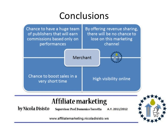 Master thesis affiliate marketing