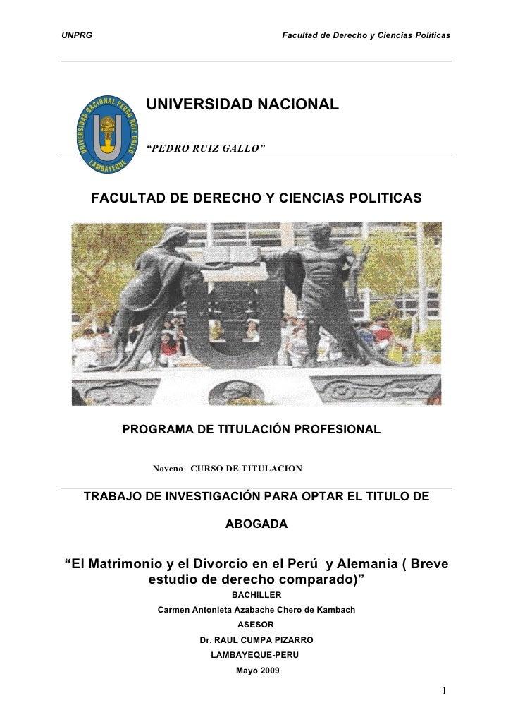 UNPRG                                     Facultad de Derecho y Ciencias Políticas                 UNIVERSIDAD NACIONAL   ...
