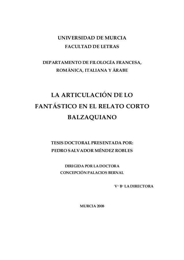 UNIVERSIDAD DE MURCIA FACULTAD DE LETRAS  DEPARTAMENTO DE FILOLOGÍA FRANCESA, ROMÁNICA, ITALIANA Y ÁRABE  LA ARTICULACIÓN ...