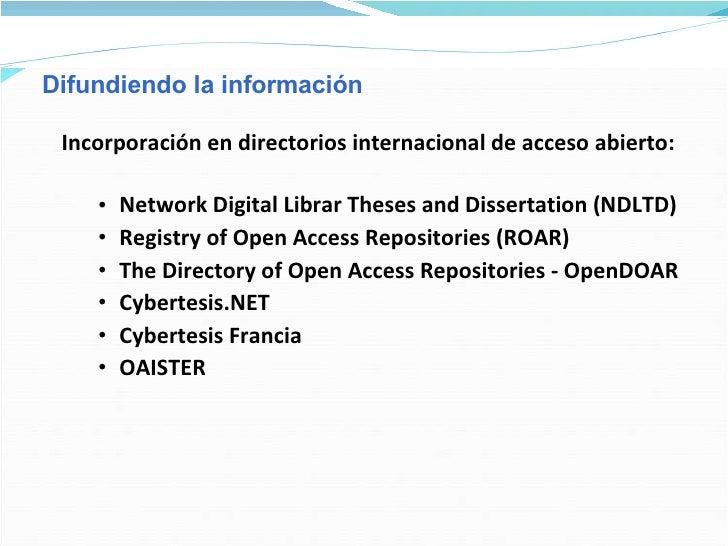 Dissertation Thesis Database