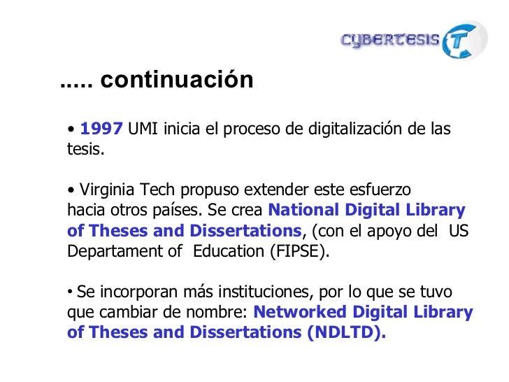 ndltd dissertations