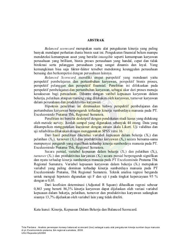 Contoh Soal Dan Materi Pelajaran 2 Contoh Tesis Kualitatif