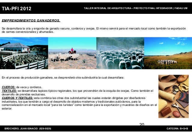 TIA-PFI 2012                                                 TALLER INTEGRAL DE ARQUITECTURA – PROYECTO FINAL INTEGRADOR  ...
