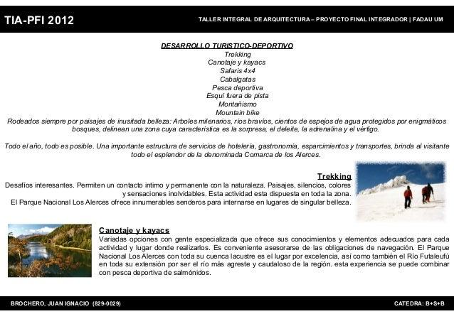 TIA-PFI 2012                                                   TALLER INTEGRAL DE ARQUITECTURA – PROYECTO FINAL INTEGRADOR...